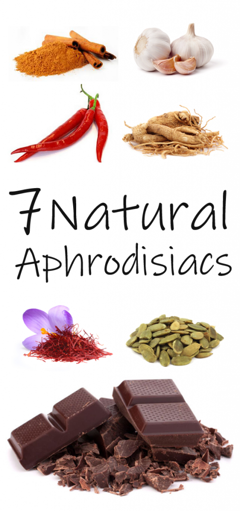 Spicing things up in the bedroom may not be as difficult as you think it has to be. Check this 7 natural aphrodisiacs
