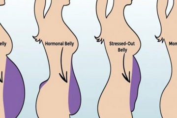types of belly fat