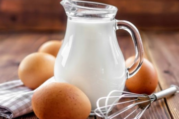 should you consume milk with eggs
