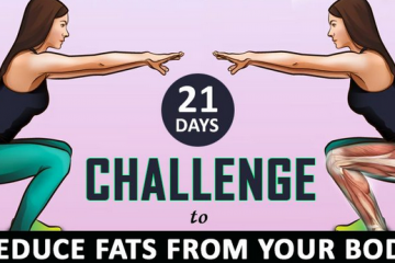 21 days reducing fats from body challenge