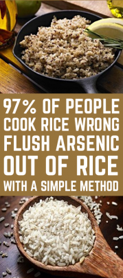 Flush Arsenic Out Of Rice With A Simple Method