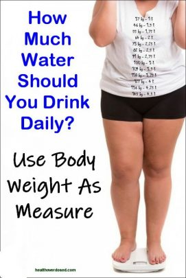 How Much Water do You Need to Drink per Day According To Weight