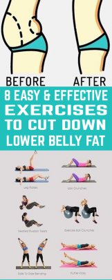 Everyone wants to be in their best possible shape ever. Try this 8 Easy and Effective Exercises To Cut Down Lower Belly Fat.