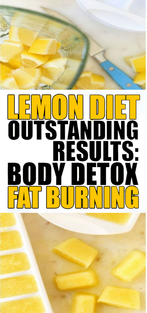 7 Day Lemon Diet, Outstanding Results - Body Detox and Fat Burning