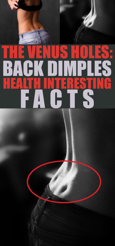 Back Dimple is Pure Genetics! This two holes can only be seen on individuals whose ligament sizes are suitable or susceptible genetics.