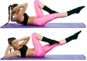criss cross exercise to lose lower belly fat