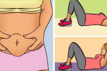 8 exercises to cut down lower belly fat
