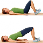 hip lifts to lose lower belly fat