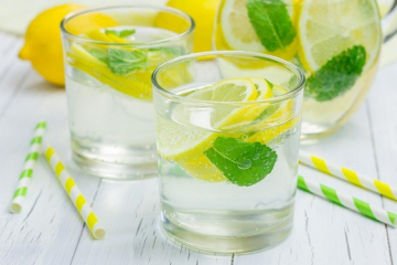 mint and water mixture for losing weight