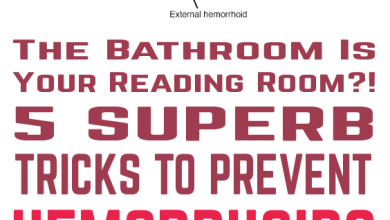 Photo of The Bathroom Is Your Reading Room?! 5 Superb Tricks To Prevent Hemorrhoids