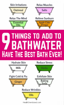 How to Have The Most Amazing Bath! 9 Things To Add To Bathwater