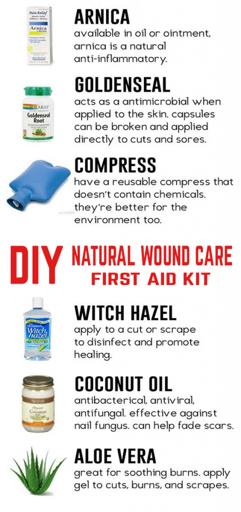 When a cut, bruise, scrape, or other minor first aid injury arises, try these products instead