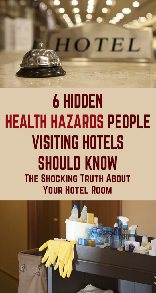 There are lots of health risks encountered in your hotel room that you won't necessarily find at home