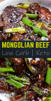 Mongolian Beef Keto Friendly Low Carb Recipe