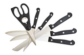 image of knives and scissors