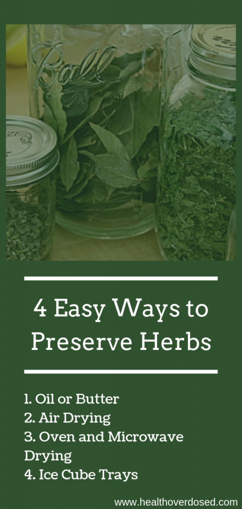 There are ways to preserve herbs so that you can continue to enjoy those hearty flavors in your recipes.