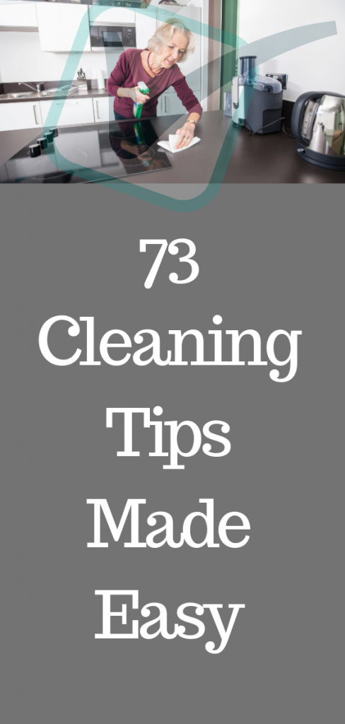 Plenty of natural, cheap, quick, helpful and cheerful cleaning tips - using everything from tin foil to vinegar and lemons - that should save you time and money when you clean your home.