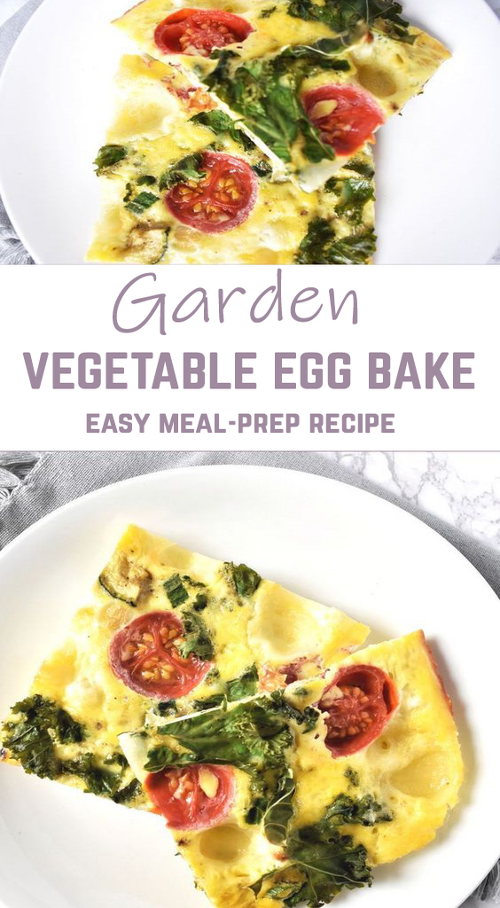 Garden Vegetable Egg Bake
