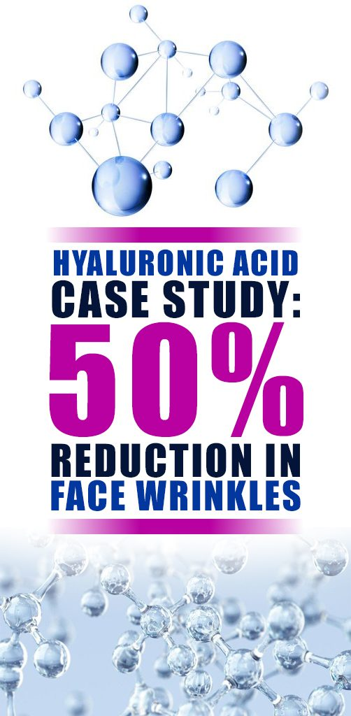 The positive effect comes from the enormous water retention capacity of hyaluronic acid. It can absorb water in a quantity several times greater than its own.