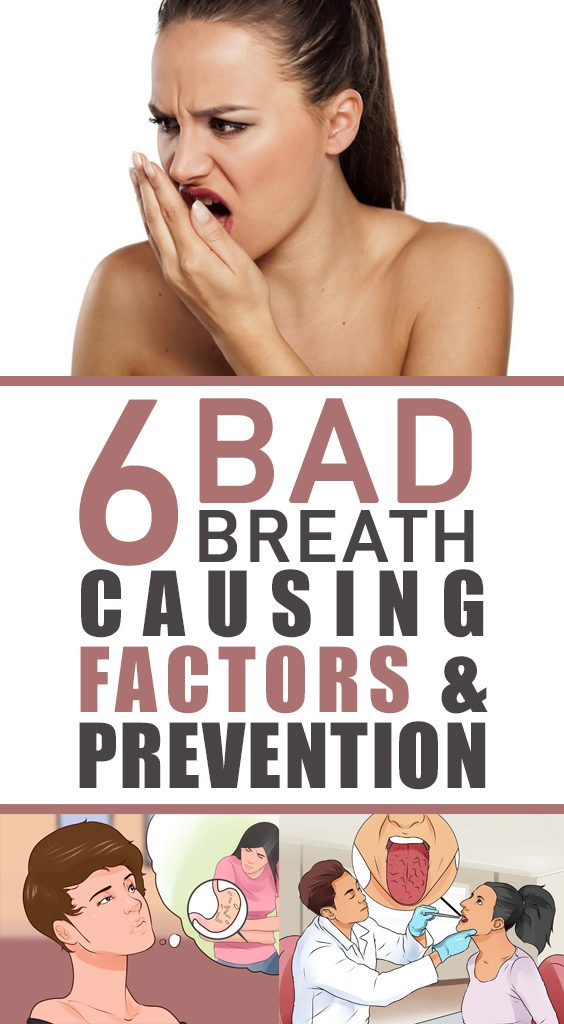 Learn what causes bad breath and how to prevent it