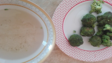 broccoli free of pesticide with baking soda