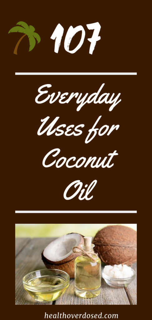 With a little bit of resourcefulness and a dash of creativity, you can find over one hundred everyday uses for coconut oil.