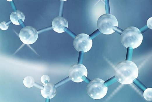 image of a hyaluronic acid structure