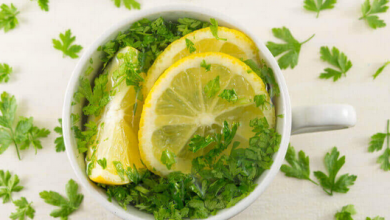 Photo of Amazing Parsley Lemonade for Acne